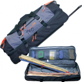 temple fork TFO Split-Bottom Rolling Cargo Bag