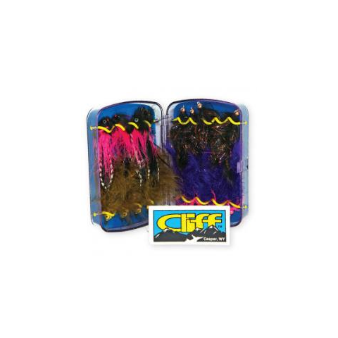 cliff CLIFF Articulator Fly Box
