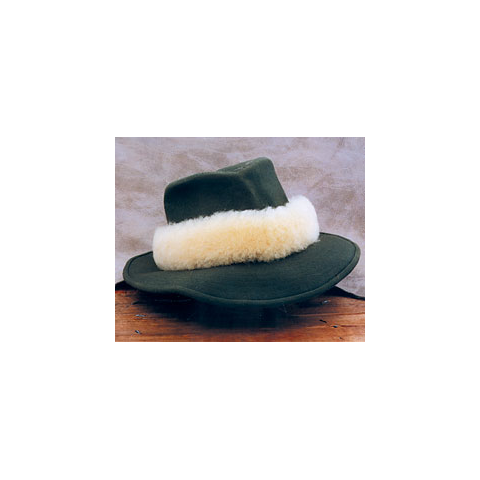 anglers image Natural Wool Hat Bands