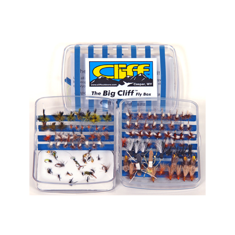 cliff CLIFF Big Cliff Fly Box