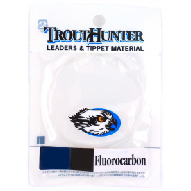 trout hunter TROUT HUNTER Fluorocarbon 9-Foot Knotless Tapered Leaders