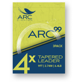ARC ARC 99 9-Foot Leaders (3-PAC)