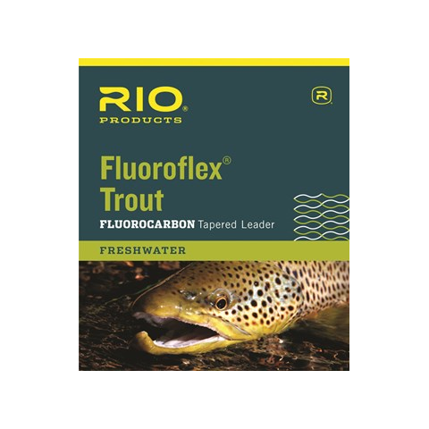 rio Rio Knotless Fluoroflex 9-Foot Tapered Leaders