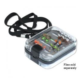 feather-craft FEATHER-CRAFT X-Small Waterproof Fly Box with Lanyard