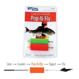 Flymen Fishing Company FISH SKULL Captain Dubiel's Pop-N-Fly
