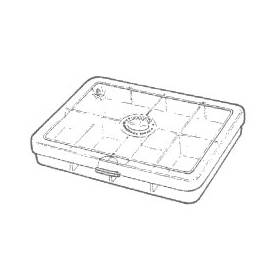 Myran MYRAN M1080 8-Compartment Fly Box