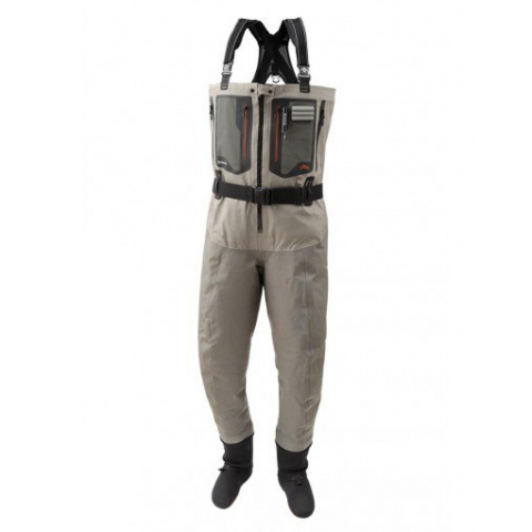 simms SIMMS G4Z Guide Zippered Stockingfoot Wader