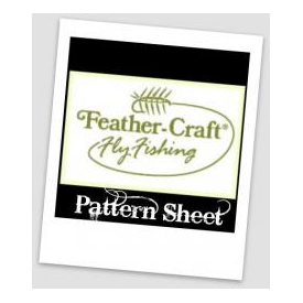 feather-craft FEATHER-CRAFT Fan-Wing Pattern Sheet