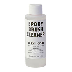 flex coat FLEX COAT Epoxy Brush Cleaner