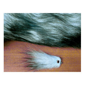 feather-craft Blue-Frost Fox Tail Piece