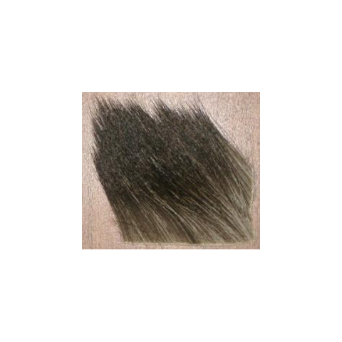 feather-craft FEATHER-CRAFT Natural Speckled Moose Body Hair