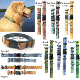WINGO Fish Skin Dog Collars