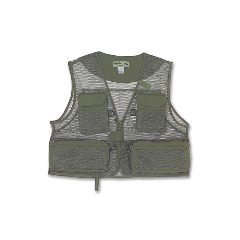 feather-craft FEATHER-CRAFT World's Lightest Mesh Fishing Vest LARGE