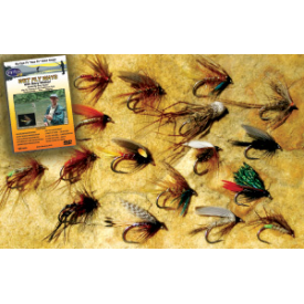 feather-craft FEATHER-CRAFT Davy Wotton Wet Fly Assortment + Wet Fly Ways DVD