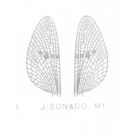 j:son J:SON Mayfly Wing Sheet Material