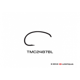 tiemco TMC 2487BL Barbless Scud Hook
