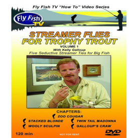 Streamer Flies for Trophy Trout DVD