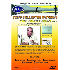 Tying Stillwater Patterns For Trophy Trout DVD