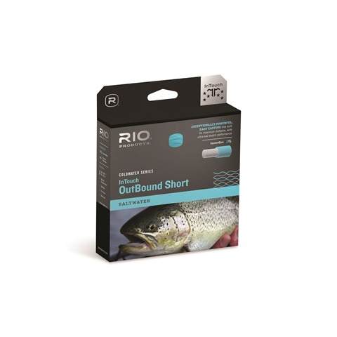 RIO IN TOUCH OUTBOUND SHORT COLD/SALTWATER TYPE-6 SINKING FLY LINES (6ips)