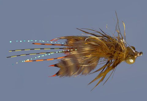 Whitlock 39 s near nuff crayfish feather craft fly fishing for Feathercraft fly fishing