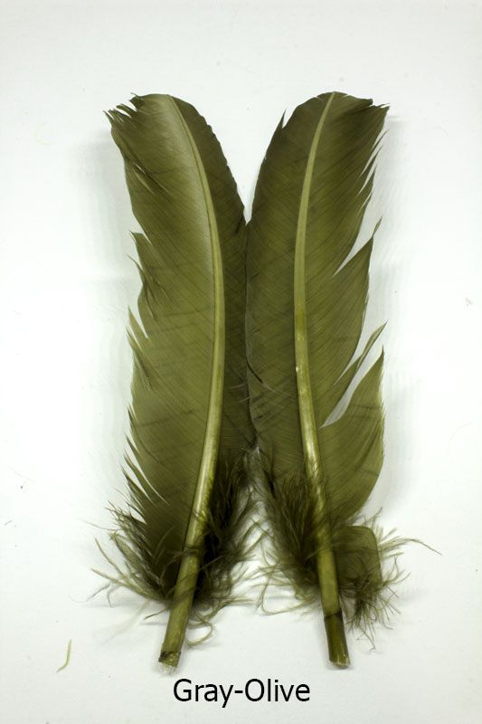 Feather craft feather craft dyed turkey rounds feather for Feathercraft fly fishing