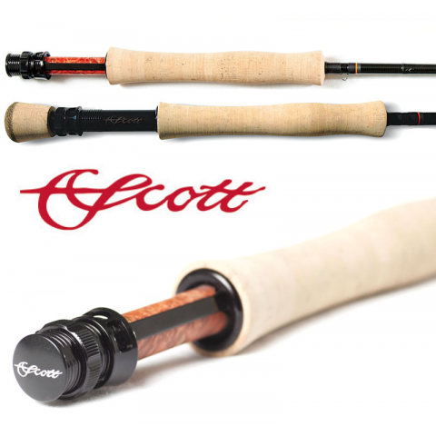 Scott Scott Radian Fly Rod Feather Craft Fly Fishing
