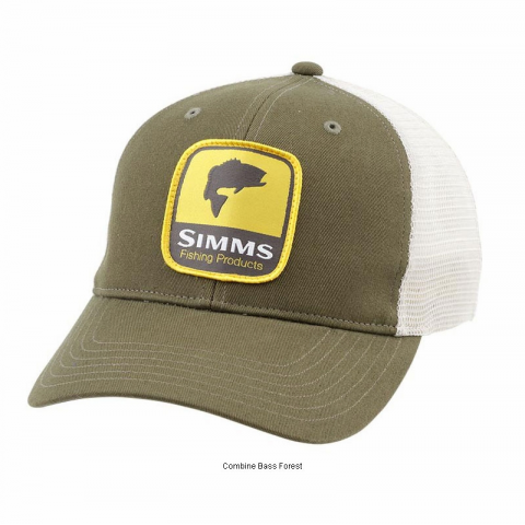 Simms Simms Patch Trucker Hat