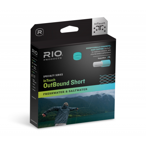 Rio RIO IN TOUCH OUTBOUND SHORT Type-3 Sinking Fly Line (3ips)