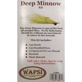 wapsi Clouser Deep Minnow Fly Tying Kit