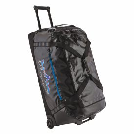 patagonia PATAGONIA Black Hole Wheeled Duffel with Fitz Roy Trout Logo