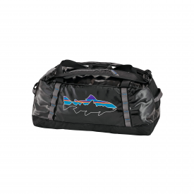 patagonia PATAGONIA Black Hole Duffel 60L with Fitz Roy Trout Logo