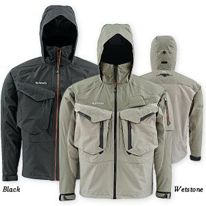Simms simms g4 pro gore tex jacket feather craft fly fishing for Fly fishing rain jacket
