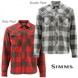 simms SIMMS Heavyweight Flannel Shirt