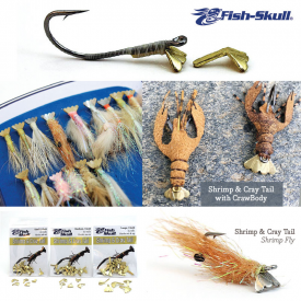 flymen fishing company FISH SKULL Shrimp & Cray Tails