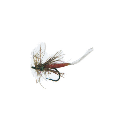 Tube bodiz emerger trailing shuck feather craft fly for Feathercraft fly fishing