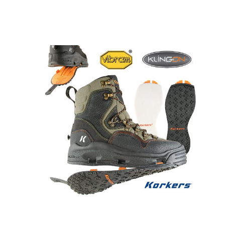 Korkers KORKERS K5 Bomber Wading Boot
