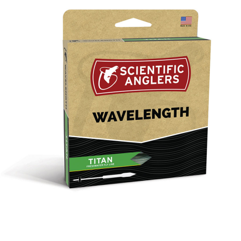 scientific anglers SA WAVELENGTH TITAN TAPER Floating Fly Line