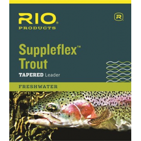 rio RIO Knotless Suppleflex Trout 9-Foot Tapered Leaders