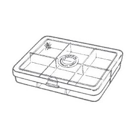 Myran MYRAN M1060 6-Compartment Fly Box