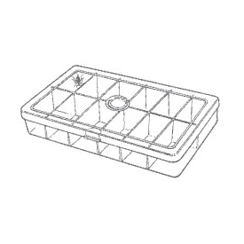 myran MYRAN M1200 12-Compartment Fly Box