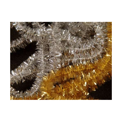 Solid Tinsel Chenille