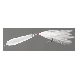 feather-craft FEATHER-CRAFT White Baitfish Floating Jerk Bait Kit