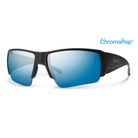 smith optics SMITH Captain's Choice with ChromaPop Blue Mirror Lens
