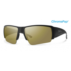 smith optics SMITH Captain's Choice with ChromaPop Polarchromic Bronze Mirror Lens