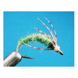 feather-craft FEATHER-CRAFT Green Caddis Larva Pattern Sheet