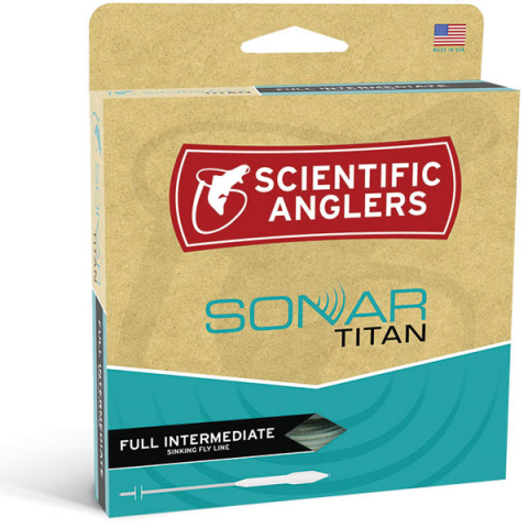 scientific anglers SONAR Titan Full Intermediate Sink Fly Line