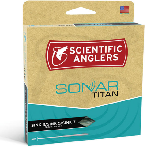 scientific anglers SONAR Titan Sink-3/Sink-5/Sink-7