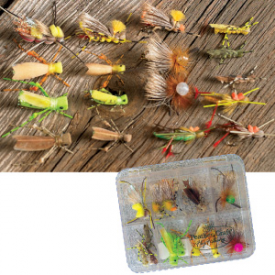 feather-craft FEATHER-CRAFT Grass Hopper Fly Selection