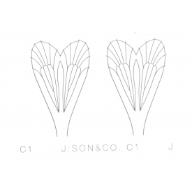 j:son J:SON Adult Caddis Wing Sheet Material