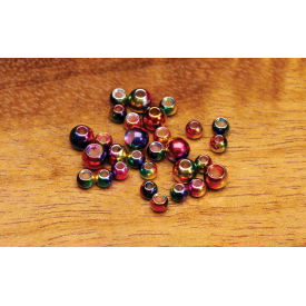 Rainbow Brass Beads